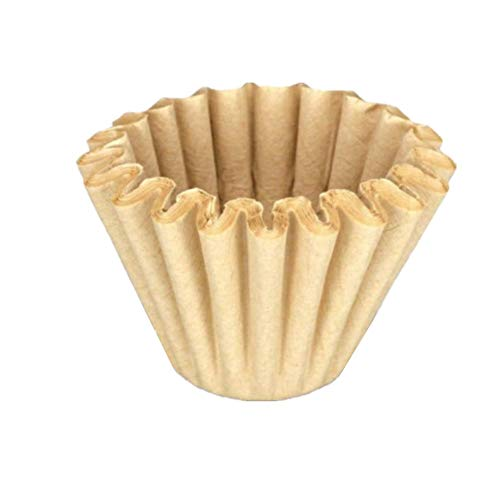 HEELPPO Kaffeefilterpapier Universal-KorbfiltertüTen Beem Aktivkohlefilter Kaffeefilter Handfilter Kaffee Geeignet FüR Kaffeeliebhaber Brown,One Size