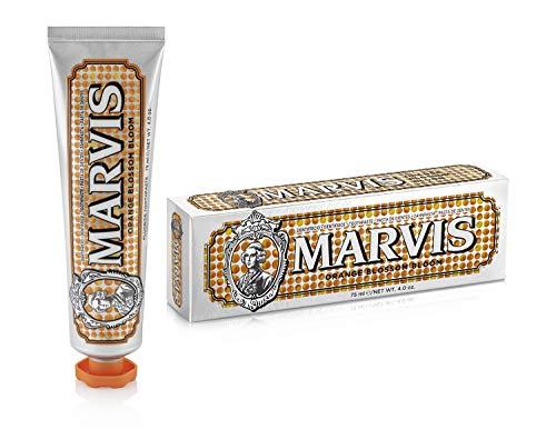 MARVIS Orange Blossom Bloom 75 ml I Zahncreme in der Geschmacksrichtung Orangenblüte und Minze I fruchtig frisch I limitiert I Blended Collection