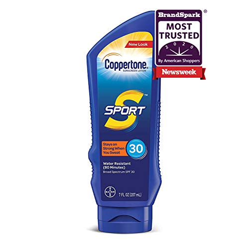 Coppertone SPORT Sunscreen Lotion Broad Spectrum SPF 30 (7-Fluid-Ounce)