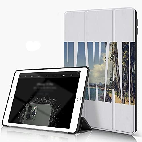 She Charm Funda para iPad 9.7 para iPad Pro 9.7 Pulgadas 2016,Palabra Hawai sobre Lugares simbólicos,Incluye Soporte magnético y Funda para Dormir/Despertar