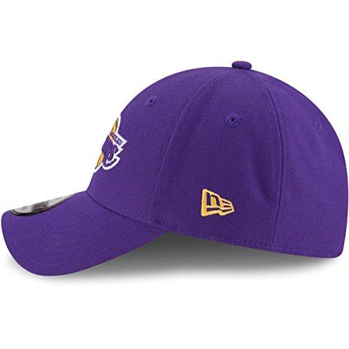 New Era NBA 9FORTY Los Angeles Lakers Sombrero The League - Gorra ajustable para adultos, color morado