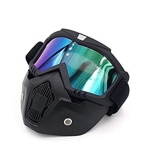 Paintball Airsoft Paint Gun Protezione Maschera Occhiali Nebbia Anti Face Termico Tiro all'orecchio Impero per attrezzi da palla Casco Occhio Marcatori per la corsa a freddo Pistole Maschere
