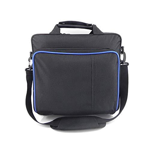 Für PS4 / PS4 Pro Slim Game Sytem Tasche Originalgröße für PlayStation 4 Konsole Schutz Schultertasche Handtasche Canvas Case (für PS4 Pro ohne Logo)