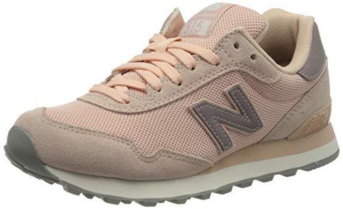 New Balance 515, Zapatillas Mujer, Rosa (Pink/Grey Pink/Grey), 38 EU
