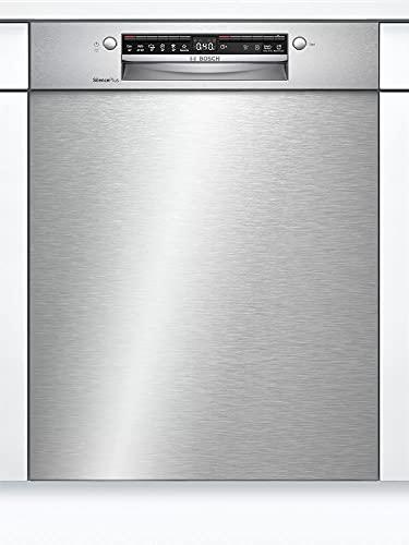 Bosch SGU4HCS48E Serie 4 Geschirrspüler Unterbau, 60 cm breit, Besteckschublade, Silence Programm besonders leise, Extra Trocknen auf Knopfdruck, Rackmatic höhenverstellbarer Oberkorb