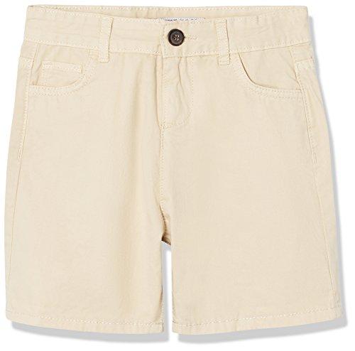 Marca Amazon - RED WAGON Pantalones Cortos Chino para Niños, Beige (Stone), 104, Label:4 Years