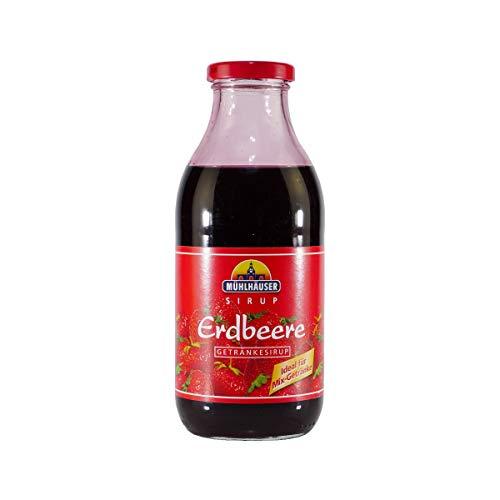Mühlhäuser Erdbeer Getränkesirup (12 x 0,5L)