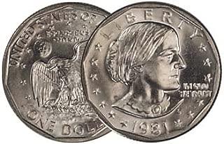 1981 S Single Type 1 Susan B. Anthony Dollar Proof US Mint