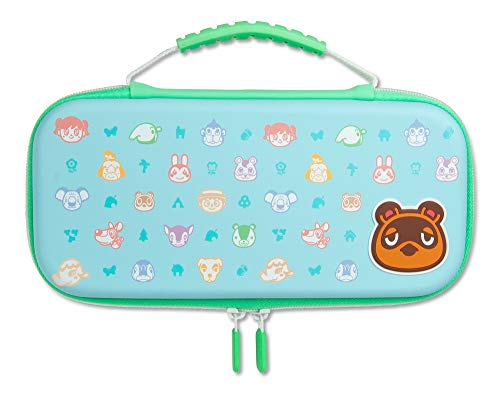 Estuche Protector PowerA para Nintendo Switch o Nintendo Switch Lite: Animal Crossing (Nintendo Switch)