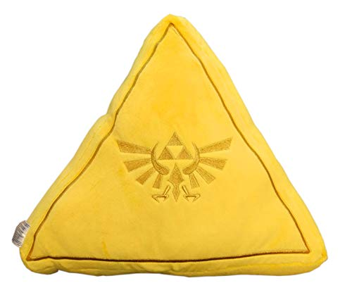 Zelda Triforce - Cuscino in peluche, 40 cm