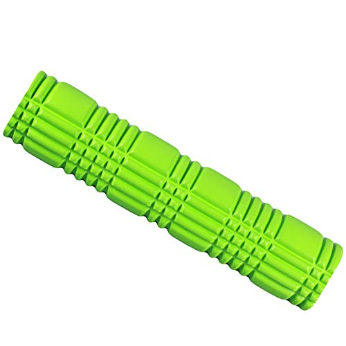 KDOAE Rodillo de Espuma Columna Hueca Alargada Personalizada con alargamiento Adecuado para la Columna de Yoga Hueca de EVA Home para Hacer Ejercicio en Casa (Color : Green, Size : 14x62cm)