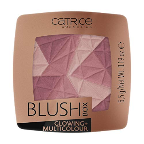 Catrice - Rouge - Blush Box Glowing + Multicolour 020 - It´s wine o´clock