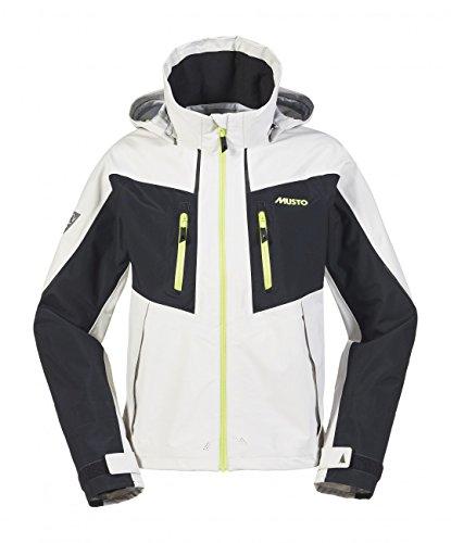 Musto BR2 Race Lite Jacket - Platinum/Black M