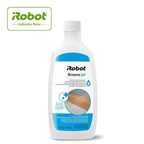 iRobot - Limpiador para Suelos 4632819, Piezas Originales, Compatible con Todos los Robot Braava, Color Blanco