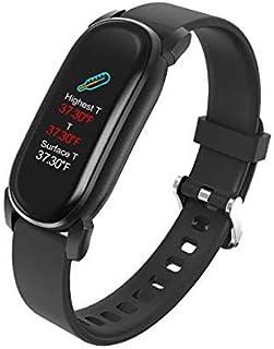 Zeerkeer Pulsera Actividad,Reloj Inteligente Impermeable IP68 Bluetooth Relojes Deportivos con Pulsómetro y Tensiómetro Pulsera Actividad Inteligente Hombre Mujer para iOS y Android