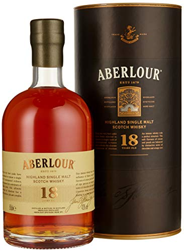 Aberlour 18 Jahre Single Malt Scotch Whisky (1 x 0.5 l)