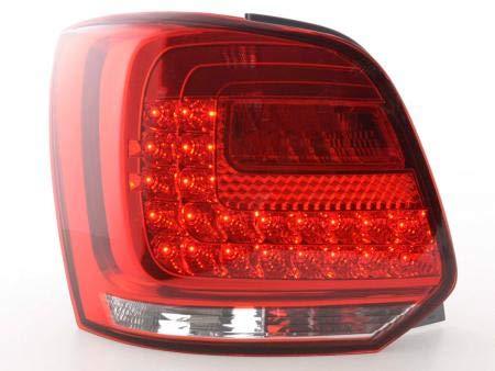 Paar achterlichten V Polo 6R 2009-2014 LED rood D-FKRLXLV.12033