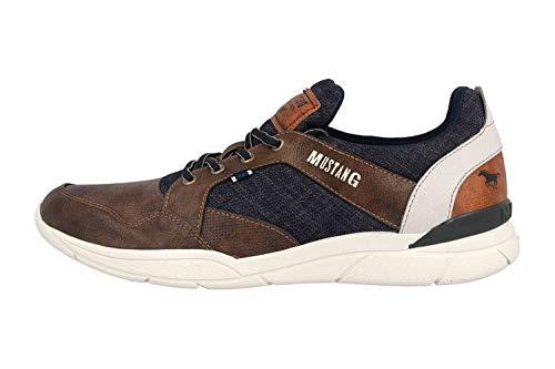 MUSTANG Shoes Halbschuhe in Übergrößen Braun 4138-301-32 große Herrenschuhe, Größe:48