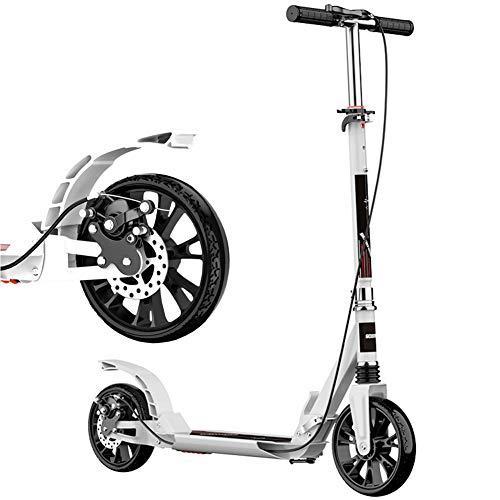 Kickscooter CHUNLANFaltbar Mit Scheibenbremse Cityroller Stoßdämpfer Roller Für Erwachsene 150 Kg Last Einkaufen Ausflug PU Verschleißfeste Reifen Nicht Elektrisch