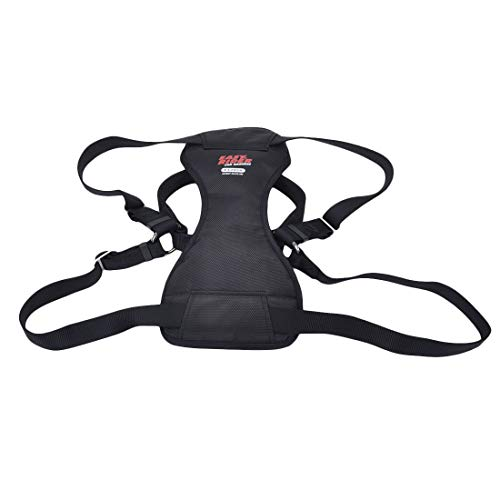 Coastal - Easy Rider - Adjustable Dog Car Harness, Black, LRG (26