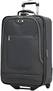 Luggage Epic 21 Inch 2 Wheel Expandable Carry On, Black