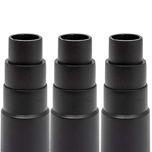 Adattatore per aspirapolvere per aspirapolvere da officina standard - adattatore per tubo flessibile universale per riduzione levigatrice, trapano, sega circolare, levigatrice eccentrica, levigatrice