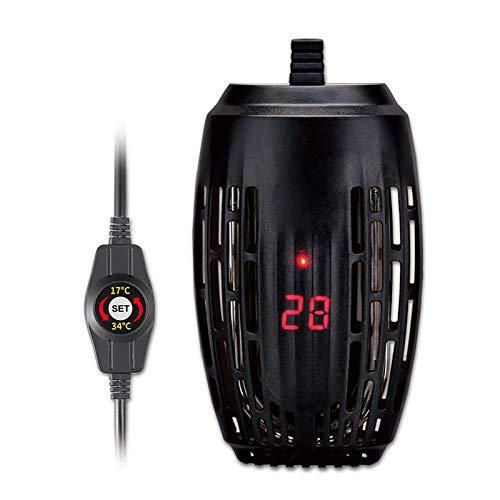 DONGKER Calefacción para acuario, 25 W/50 W/75 W/100 W, resistencia a la explosión, temperatura ajustable, termostato de inmersión con indicador de temperatura LED para tanque de tortuga