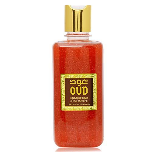 Saffron with Oud Shower Gel