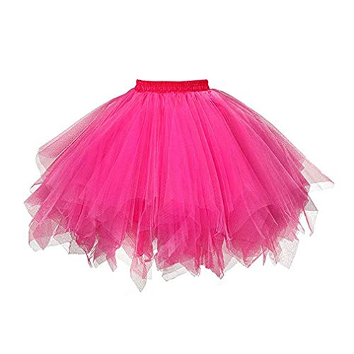 Gagacity Tutu Damesrok, 50 stuks, korte ballet voor dames, rok, onderjurk, ballet, dansjurk, baljurk, avondjurk, cosplay carnaval