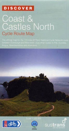 Coast and Castles North - Sustrans Cycle Routes Map: Sustrans Official Cycle...