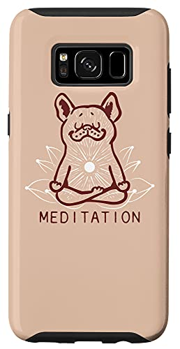 Galaxy S8 Meditation Frenchie Case