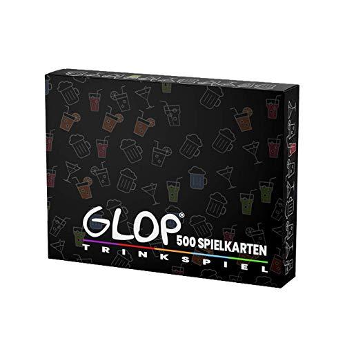 Glop 500 Spielkarten - Enthält App - Trinkspiel - Trinkspiele für Erwachsene - Partyspiele ab 18 - Saufspiel - Super als Geschenk