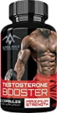 Alpha Male Testosterone Booster (60 Caplets) - Natural Stamina, Build Muscle, Endurance & Strength Booster - Fortifies Metabolism - Promotes Healthy Weight Loss & Fat Burning all while building Muscle