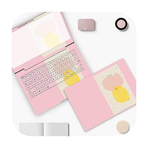Peach-Girl Simple Colour PVC Laptop Sticker for Dell Xps 13 Lenovo Yoga 720 Acer An515 52 HP 15.6 14 Thinkpad – D-815-17 Inch