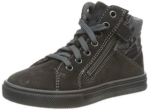 Richter Kinderschuhe Jungen Ola Hohe Sneaker, Grau (Steel 6501), 25 EU