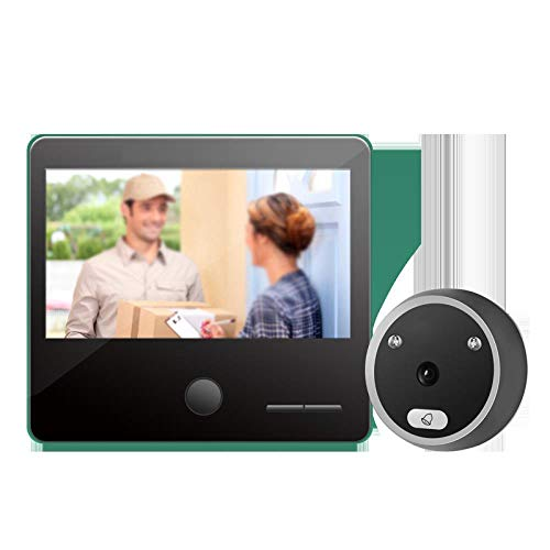 Intelligent Electronic Cat Eye Surveillance Camera Anti-Theft Wireless Door Mirror Video Doorbell, a