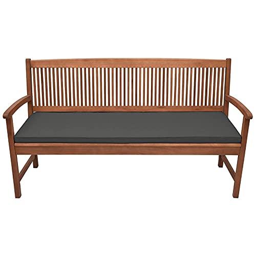 Tovaglia da giardino, patio, panchina, impermeabile, tessuto resistente, 2 posti, cuscino comodo, durevole e leggero