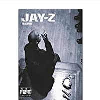 Jay-Z The Blueprint Rap Hip Hop Music Album Cover Painting Poster Prints Canvas Wall Picture For Home Room Decor 60x90cm unframed