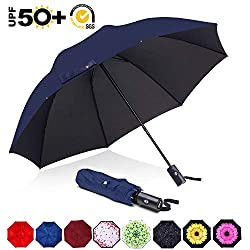top rated ABCCANOPYUmbrella Teflon Compact umbrella with wind and rain protection function Sunscreen with black adhesive … 2021