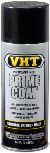 VHT SP305 Prime Coat Black Sandable Primer Filler Can - 11 oz.