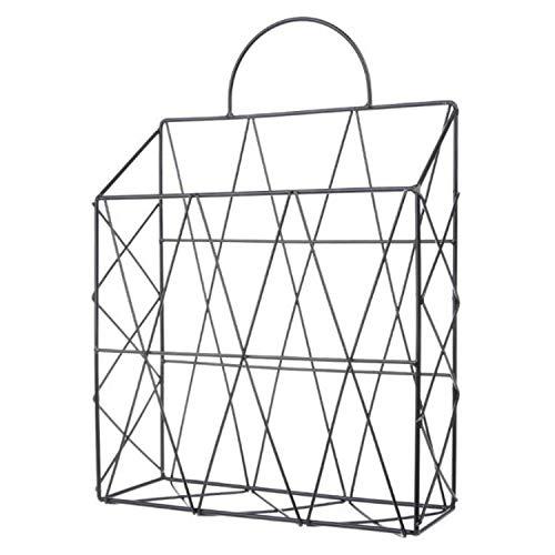 Estantería Magazine Rack Rack de sobremesa Nordic Style Magazine Archivo Rack Rack de...
