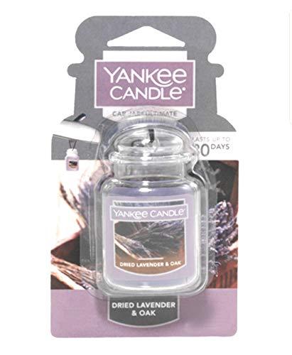 Yankee Candle - Tarro para coche (aroma de lavanda y roble)