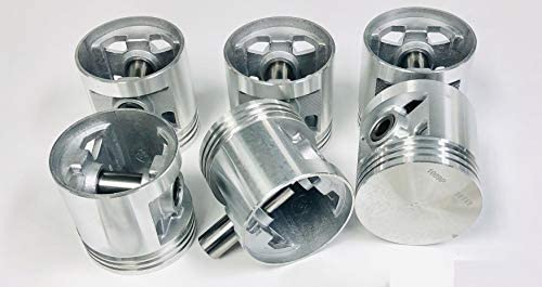 For 1941 To 1962 Chevy 235 6 Cylinder Engine Piston Set Of 6 Silvolite 1413+.030