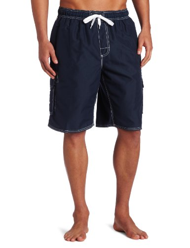 Kanu Surf Men's Barracuda Swim Trunk, Navy, XX-Large