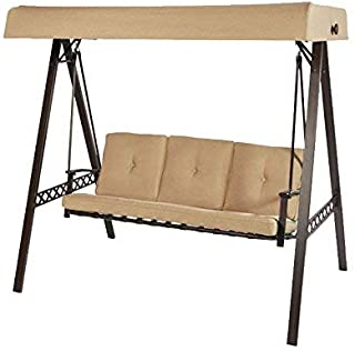 Garden Winds 3-Seater A-Frame Swing Replacement Canopy Top Cover - RipLock
