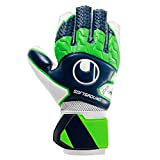 ウールシュポルト(uhlsport) サッカー GK キーパーグローブ ダイナミックインパルス ソフト シリーズ 1011155 7 ネイビー×フローグリーン×ホワイト