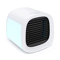 3-IN-1: Cools, humidifies, and cleans dust particles from the air for healthier breathing. You don't need more to have several devices like air conditioner and humidifier FOR PERSONAL USE - Cools the area in front of the device (45 sq. ft. ), approxi...