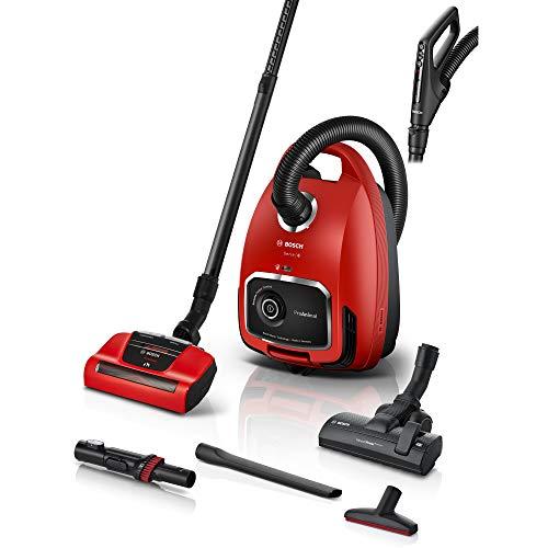 Bosch Hausgeräte BGL6TPET Aspiradora con Bolsa, Rojo