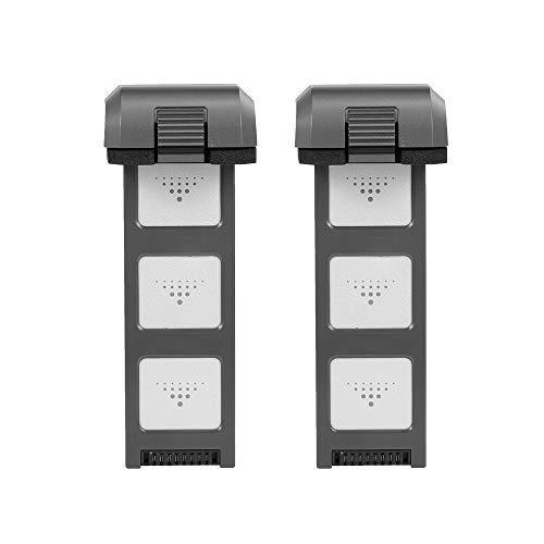 Leslaur Batteria Li-Po MJX B4W 2PCS 7,6 V Batteria 3400 mAh e Caricabatterie per MJX B4W JJR/C X11 Potensic D88 EACHINE EX3 RC Drone