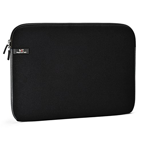 MagicLux Tech 11.6-Inch Laptop Sleeve Water Resistant Neoprene Protective Laptop Case Cover Bag for Chromebook/MacBook Air/MacBook/acer/Lenovo/Sony/Toshiba/Dell (11.6, black)